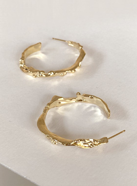 Terra ring earring
